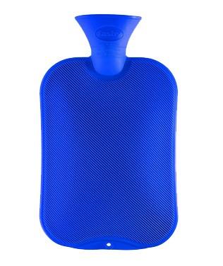 Fashy kruik 2 liter | Blauw | enkelzijdig geribbeld