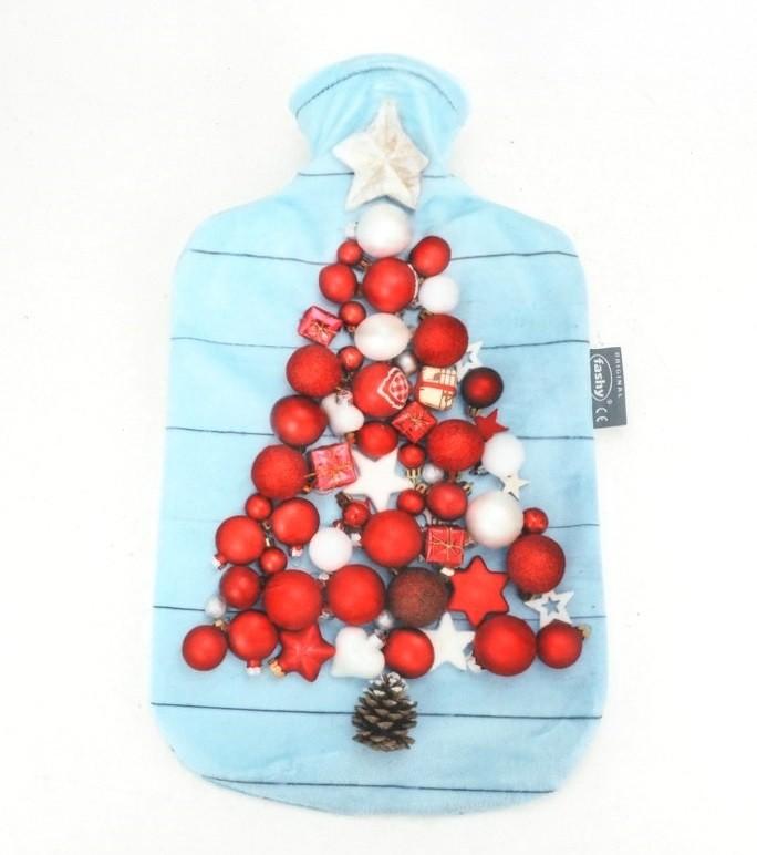 Fashy kruik 2 liter | Kerst Kruik | Pluche | zachte hoes