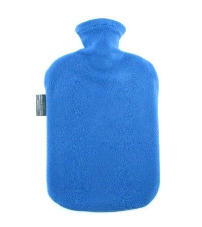Fashy kruik 2 liter | Met fleece hoes | Blauw