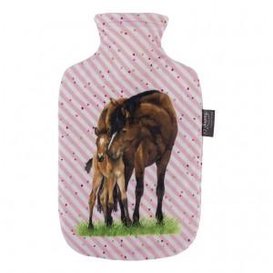 Fashy kinderkruik | 2,0 liter | paardenvriend (roze)